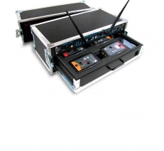 Flight-cases for Wireless Intercom Systems